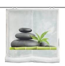 Carozo Raffrollo Voile Digitaldruck 140x0100 grün