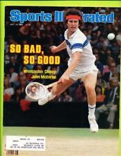 Sports Illustrated Magazine July 13, 1981 - John McEnroe   Wimbledon Champ