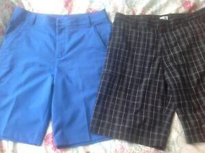 Puma & Adidas Golf Shorts 32 inch Excellent