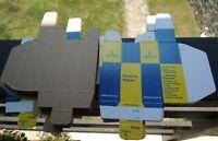 SIEMENS &HALSKE AG TUBE-BOX CARTON BOX for Radio Tubes 12AU7-12ax7/ecc803S,E83CC
