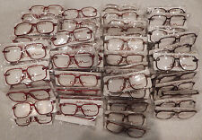 Vintage 100 Pc. Elan # 606 Carbon 58/14 Eyeglass Frame Lot Nos lot#97b