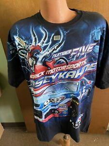 Kasey Kahne #5 Nascar Chase Multi-Color Total Print Men's Shirt XL