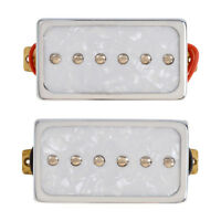 Single Coil Bridge Neck Pickups Set for Electric Guitar White Pearl