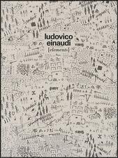Ludovico einaudi éléments piano sheet music book nuit tomber deux fois abc logos