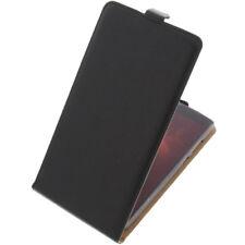 Tasche für Elephone C1 Max FlipStyle Handytasche Schutz Hülle Flip Case Schwarz