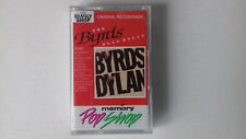 THE BYRDS   PLAY DYLAN CASSETTE TAPE  ***PAPER LABELS***