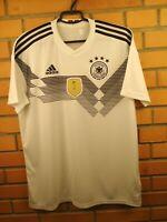 Germany Jersey 2018 2019 Home LARGE Shirt BR7843 Football Adidas Trikot Soccer