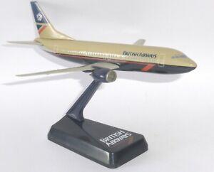 Boeing 737-400 British Airways Landor Vintage Wooster Snap Fit Model Scale 1:180