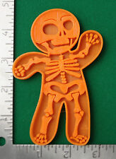 Halloween Gingerbread Skeleton Novelty Cookie and Fondant Cutter