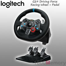 Logitech G29 Driving Force Racing Wheel for Sony PlayStation 4 3 PS4 PS3 PC