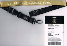 Sammler Ticket VIP-Pass DFB-Lounge Deutschland - England Testspiel 2016/17