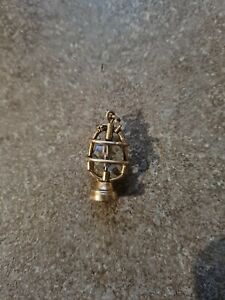9ct Gold Lantern Charm