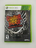 Guitar Hero: Warriors of Rock - Xbox 360 Game - Complete & Tested