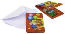 Riethmuller - Lot 6 Cartes invitation + enveloppes Babar