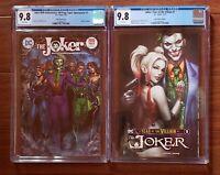 Joker 80th Anniversary Jim Lee Variant & Year of the Villain #1 both 9.8.