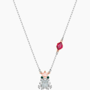 Swarovski Women's Necklace Out of this World Kiss Frog Pendant 5456136