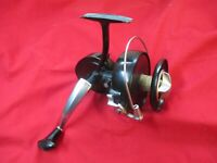 Vintage KP Morritts Intrepid Surfcast Saltwater Reel in Box Patent no 798.024.