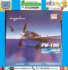 Aereo Caccia FW-190 Focke Wulf Invernale Modellino Scala 1:48 Diecast HM Hobby