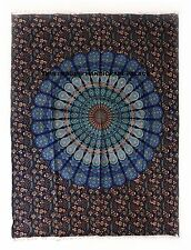 Indian Mandala Tapestry Bohemian Ethnic Throw Yoga Mat Cotton Table Cover Hippie