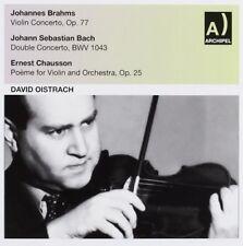 David Oistrakh - VLN Con Op. 77 Bach BW [New CD]