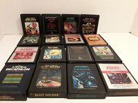 Lot of 16 Games Vintage Atari 2600 Games: DEMONS TO DIAMONDS, PHOENIX +14 OTHERS