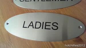 Ladies Door Sign Metal Door Sign