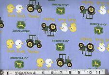 JOHN DEERE DUCK TRACTOR BLUE FABRIC CP54810