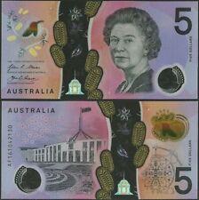 Australia,P62,B230a,5 Dollars,2016,UNC,DJ Prefix,Queen Elizabeth @ Ebanknoteshop