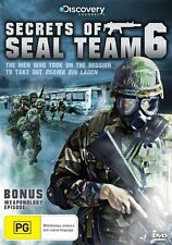 DVD  Secrets Of Seal Team 6 - operation and initiatives of the elite squadron