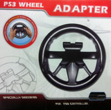 Playstation 3 PS3 Steering Wheel Controller Gamepad Adapter DRIVING GAMES GT Etc