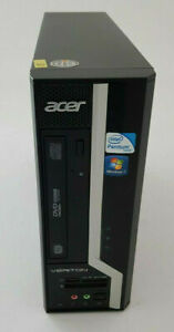 Cheap ACER/DELL/HP Desktop PC Intel Dual Core/Core2Duo 4GB RAM 250GB HDD Win-10