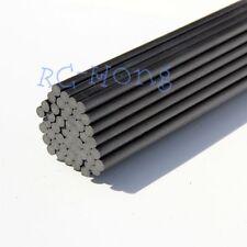 5pcs 12mm x 500mm Length Carbon Fiber Rods for RC plane & RC Model