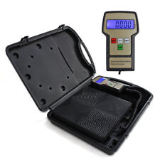 220lbs Digital Electronic Refrigerant Charging Weight Scale for HVAC Portable