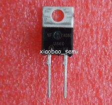5pcs MUR860G MUR860 8A 600V 2 Pin Terminals Power Rectifier TO-220