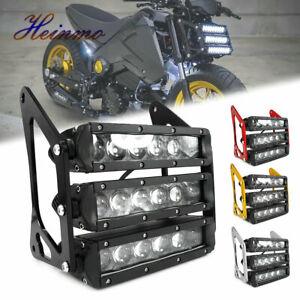 3 Row LED Motorcycle Front Fork Headlight For MSX Grom MSX125 MSX125SF 2013-19