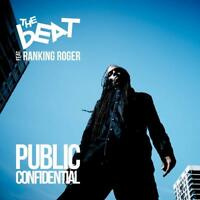THE BEAT FEAT. RANKING ROGER - PUBLIC CONFIDENTIAL - NEW BLUE VINYL LP (INDIES O
