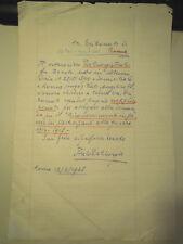 MANOSCRITTO PER RICHIESTA MEDAGLIA CAVALIERI DI VITTORIO VENETO 1968 (MOV)