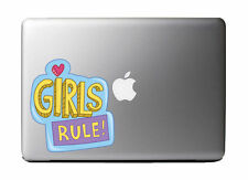 "Girl Rule Art Design Full Color - Vinyl Decal for 13"" Macbook …"