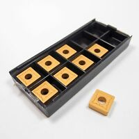 NEWCOMER Carbide Turning Inserts SNMG-432-R NK620 (8 Pcs)