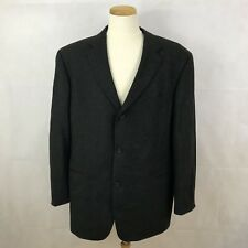 Boss Hugo Men's Virgin Wool Blazer Suit Jacket Sport coat - Size 46R - Einstein