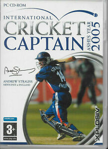 International Cricket Captain Ashes Year 2005 PC VIDEO GAME COMPLETE
