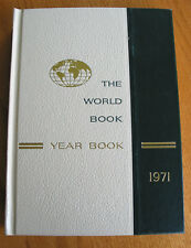The World Book Year Book Encyclopedia 1971 Review of Events