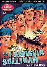 LA FAMIGLIA SULLIVAN  DVD DRAMMATICO