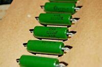 10x  .022uF 22nf  630V USSR  Guitar Tone Capacitors