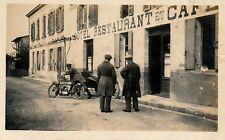Moto Side Car Rue Aquitaine Midi Pyrénées c. 1920 -  32