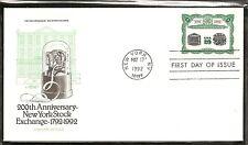 US SC # 2630 New York Stock Exchange FDC. Artmaster Cachet