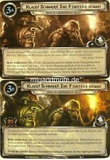 Lord of the Rings LCG - 1x Klapp! Schnapp! Ins Finstere Hinab! #028