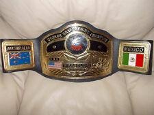 NWA World Heavey Weight Belt NWA WWE WCW ECW  Ric Flair Dusty Rhodes
