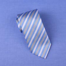 Light Blue UK Regimental Striped Tie 8cm Air Force Speciality Dot Woven Necktie
