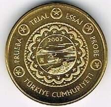 Turkye 2003 (Gr) probe-pattern-essai - 50 eurocent - Landschap